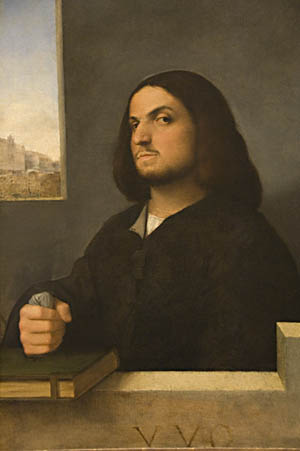Giorgione and Titian: Portrait of a Venetian Gentleman, c. 1510