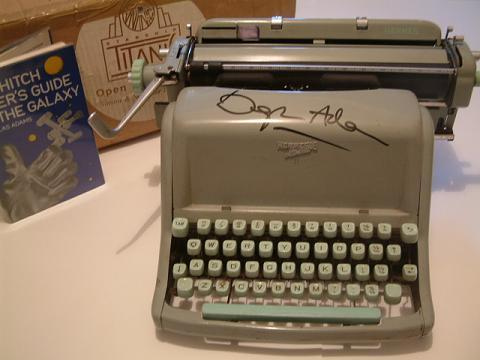 Douglas Adams\' Typewriter