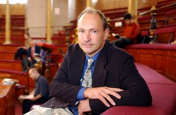 Tim Berners-Lee in 2001