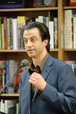 "Arthur Phillips at Politics and Prose, Reading of ""The Song is You"""