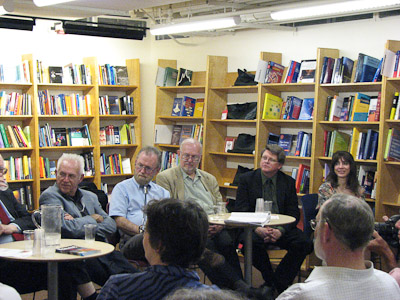 SF Authors:  Bear, Asaro, etc. Roundtable at Reiter's Bookstore