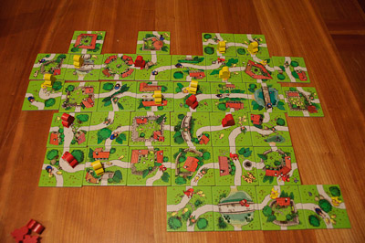 Kids of Carcassonne Board