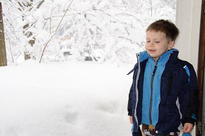 Snow Storm 2-2010: Two feet.