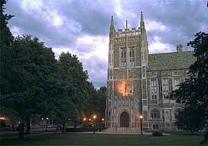 Boston College: Burns Library