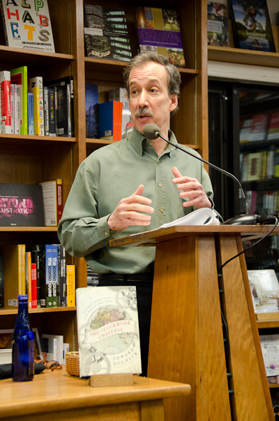 Edward Dolnick talking at Politics and Prose, 2/26/2011