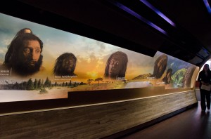 Entrance to Hall of Human Origins at Natural History Museum