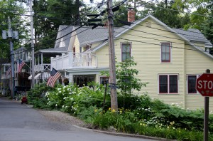 Our Chautauqua Digs, 2011.  Only a few blocks from...everything!