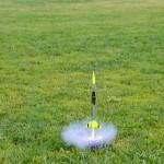 Model Rocket taking off!