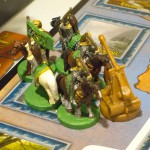 War of the Ring - closeup of painted miniatures - under siege!