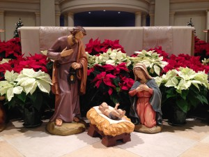 Nativity at St. Louis Church; Midnight Mass