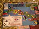 Cuba Libre; late in game. I played Directorio (yellow)