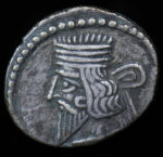 Persia, Phraates IV, Parthian Kingdom, 38-2 BC.. Obv. Diademed bust left